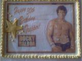 Rocky Balboa Birthday Card Rocky Balboa Cake Rocky Pinterest