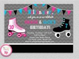 Roller Skating Birthday Invitations Templates Party Invitation Templates Roller Skating Birthday Party
