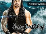 Roman Reigns Birthday Card Happy Birthday Seth Rollins E Greeting Card with Name
