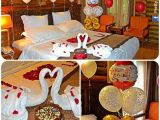 Romantic 40th Birthday Ideas for Her Romantic Decorated Hotel Room for His Her Birthday