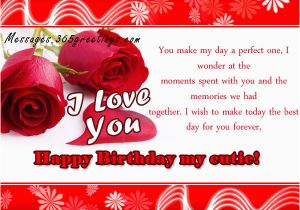 Romantic Birthday Card Messages For Him Wishes 365greetings Com