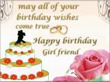Romantic Birthday Cards for Girlfriend 26 Romantic Happy Birthday Greetings for Girlfriend