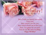Romantic Birthday Cards for Girlfriend Romantic Birthday Wishes 365greetings Com