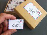 Romantic Birthday Gifts for Boyfriend Image Date Night Box 60 Date Night Ideas Romantic Gift for
