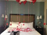 Romantic Birthday Gifts for Him Images Valentines Surprise Hotel Room for Boyfriend or Hubby He
