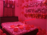 Romantic Birthday Gifts for Husband Ideas Romantic Room Decoration for Surprise Birthday Party In