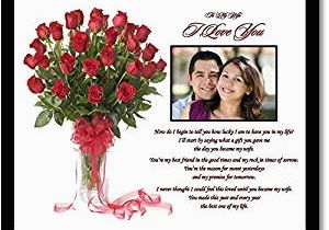 Romantic Birthday Gifts for Husband India Online Amazon Com I Love You Gift for Wife Romantic Gift From