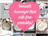 Romantic Birthday Gifts Ideas for Him Romantic Scavenger Hunt Moms Munchkins