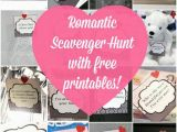 Romantic Birthday Present Ideas for Him Romantic Scavenger Hunt Romantic Scavenger Hunt