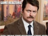 Ron Swanson Birthday Memes Haha Think the Moustache and Perms are Questionable In