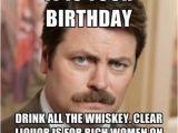 Ron Swanson Birthday Memes Happy Birthday Meme Ron Swanson