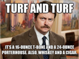 Ron Swanson Birthday Memes the Best Ron Swanson Food Quotes Muhaha and Aha D