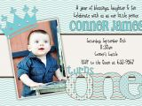 Rookie Of the Year 1st Birthday Invitations Baby Boy First Birthday Invitations Free Invitation