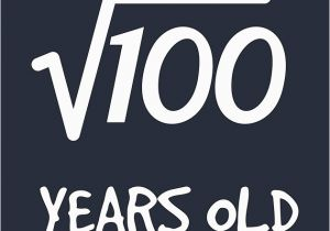 Roots Birthday Girl Square Root Of 100 10th Birthday 10 Years Old Boy Girl
