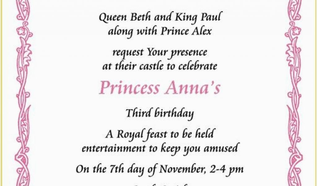 Download By SizeHandphone Tablet Desktop Original Size Back To Royal Birthday Party Invitation Wording