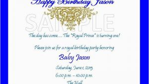 Royal Prince Birthday Party Invitations solutions event Design by Kelly Royal Prince theme