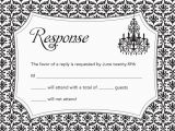 Rsvp Cards for Birthday Party Invitations with Response Cards Birthday Party