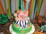 Safari themed Birthday Party Decorations A Jungle themed 1st Birthday Party From Brazil Party