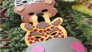 Safari themed Birthday Party Decorations Safari Jungle themed First Birthday Party Cheap Party