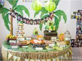 Safari themed Birthday Party Decorations Safari Jungle themed First Birthday Party Part Ii