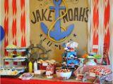 Sailor Birthday Decoration 12 Nautical Party Ideas for Boys Design Dazzle