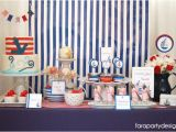 Sailor Birthday Decoration Kara 39 S Party Ideas Nautical Sailor Party Navy Party