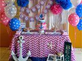 Sailor Birthday Decoration Partylicious events Pr Nautical Girl Birthday