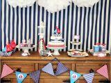 Sailor Birthday Decoration Ships Ahoy A Boys Nautical Party B Lovely events