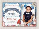 Sailor Birthday Invitations 5 Nautical Birthday Invitations for Your Inspiration