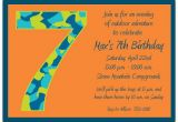 Sample 7th Birthday Invitation for Boy Birthday Boy Camo 7th Birthday Invitations Paperstyle