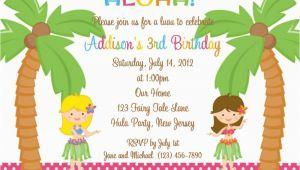 Sample Birthday Invitation Wording for Kids 18 Birthday Invitations for Kids Free Sample Templates