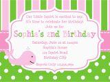 Sample Evite Birthday Invitations 21 Kids Birthday Invitation Wording that We Can Make