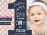 Sample Invitation for 1st Birthday Party 30 First Birthday Invitations Free Psd Vector Eps Ai