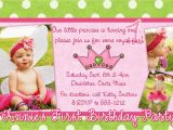 Sample Invitation for 1st Birthday Party Birthday Invitation Card Samples Best Party Ideas