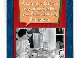Satanic Birthday Cards Career Satan Distracts Birthday Ron Kanfi