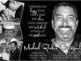 Save the Date 80th Birthday Invitations Classic Black White 50th Birthday Invitation 40th 60th