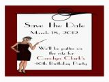 Save the Date Cards for Birthday Birthday Save the Date Cards Large Business Cards Pack Of