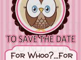 Save the Date Cards for Birthday Items Similar to Printable Diy Owl First Birthday Save the