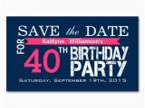 Save the Date Cards for Birthday Save the Date Birthday Magnetic Card Reminders Magnetic