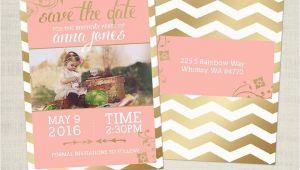 Save the Date Cards for Birthdays Birthday Save the Date Card Template for Photographers Bd02