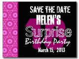 Save the Date Cards for Surprise Birthday Party 17 Best Images About Birthday 18th Birthday Party On
