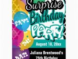 Save the Date Cards for Surprise Birthday Party Surprise Birthday Party Save the Date Postcard