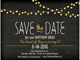 Save the Date Invitation Wording for Birthday Party Blog