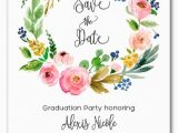 Save the Date Invitation Wording for Birthday Party Cara Floral Wreath Save the Date Cards Wedding Save the