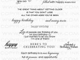Sayings to Put In Birthday Cards Inside Out Birthday Stamp Set Papertrey Ink Clear