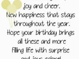 Sayings to Put In Birthday Cards Smiles and Laughter Joy and Cheer New Happiness that