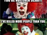 Scary Clown Birthday Meme top 25 Best Scary Clown Meme Ideas On Pinterest Clown