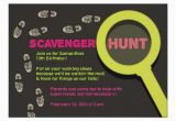 Scavenger Hunt Birthday Party Invitations Free Printable Scavenger Hunt Birthday Party Invitations