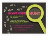 Scavenger Hunt Birthday Party Invitations Free Printable Scavenger Hunt Birthday Party Invitations