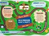 Scavenger Hunt Birthday Party Invitations Scavenger Hunt Birthday Party Invitations Oxsvitation Com